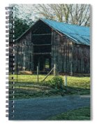 Barn 1 - Featured In Old Building And Ruins Group Spiral Notebook