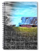 Barn 23 - Featured In Comfortable Art  And Artists Of Western Ny Groups Spiral Notebook