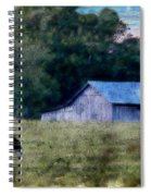 Barn 30 Pastel Spiral Notebook