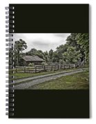 Barn And Corral Spiral Notebook