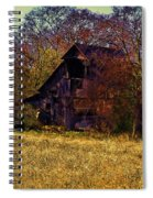 Barn And Diamond Reo-featured In Barns Big And Small Group Spiral Notebook
