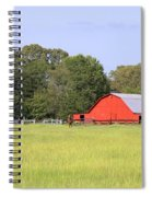 Barn And Pasture Spiral Notebook