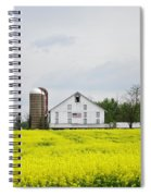 Barn And Silos 2 Spiral Notebook