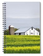 Barn And Silos Spiral Notebook