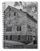 Barn At Amhi   7k00333 Spiral Notebook
