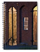 Barn Door Lighting Spiral Notebook