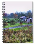Barn - End Of The Road Spiral Notebook