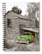 Barn Finds Classic Cars Spiral Notebook
