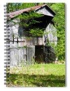 Barn From The Forgotten Farm 3 Spiral Notebook