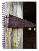 Barn Hinge 2 Spiral Notebook