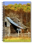 Barn In Fall Spiral Notebook