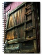Barn In May Moonlight Spiral Notebook