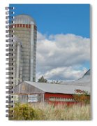 Barn In The Clouds Spiral Notebook