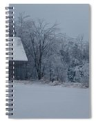 Barn In The Long Wait Spiral Notebook