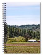 Barn In The Trees Spiral Notebook