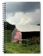Barn In The Usa Spiral Notebook