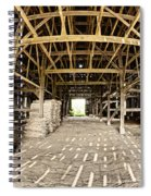 Barn Interior Spiral Notebook