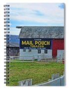 Barn - Mail Pouch Tobacco Spiral Notebook