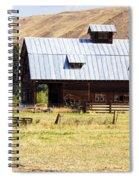 Barn Near Ellensburg Wa Spiral Notebook