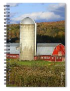 Barn On The River Rd. Spiral Notebook