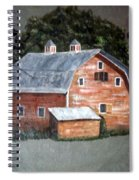 Barn On Va Creeper Trail Spiral Notebook