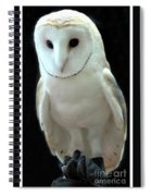 Barn Owl. Spiral Notebook