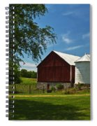 Barn Painting Spiral Notebook