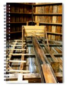 Barn Rafters 2 Spiral Notebook