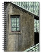 Barn Roofs At The Crane Estate Spiral Notebook