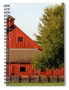 Barn South-3586 Spiral Notebook