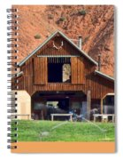 Barn Ten Sleep Wyoming Spiral Notebook