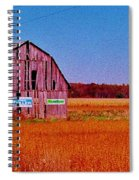Barn Van Dyke Spiral Notebook