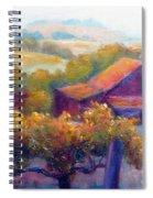 Barn Vineyard Spiral Notebook