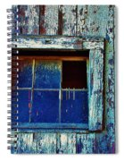 Barn Window 1 Spiral Notebook