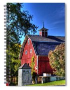 Barn With Out-sheds Brunner Family Farm Spiral Notebook