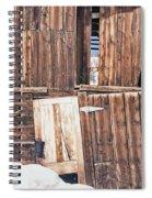 Barn Wood Spiral Notebook