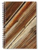 Barn Wood Detail Spiral Notebook