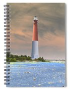 Barnegat Abstract Spiral Notebook
