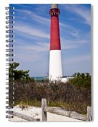 Barnegat Lighthouse Spiral Notebook