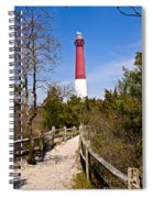 Barnegat Lighthouse II Spiral Notebook