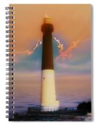 Barnegat Lighthouse In New Jersey Spiral Notebook