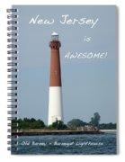 Barnegat Lighthouse Nj - Old Barney Spiral Notebook