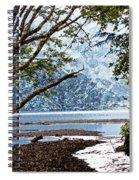 Barnes Creek At Lake Crescent - Washington Spiral Notebook