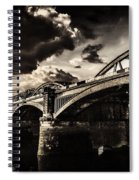 Barnes Rail Bridge Spiral Notebook