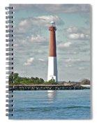 Barngat Lighthouse - Long Beach Island Nj Spiral Notebook