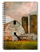 Barns In The Country Spiral Notebook