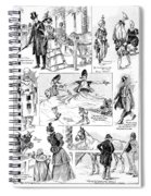Barnum And Bailey, 1898 Spiral Notebook