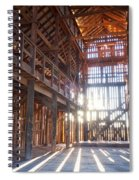 Barnwood Cathedral Spiral Notebook