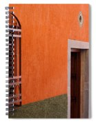 Barred Window, Mexico Spiral Notebook