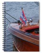 Barrel Back-cockpit View Spiral Notebook